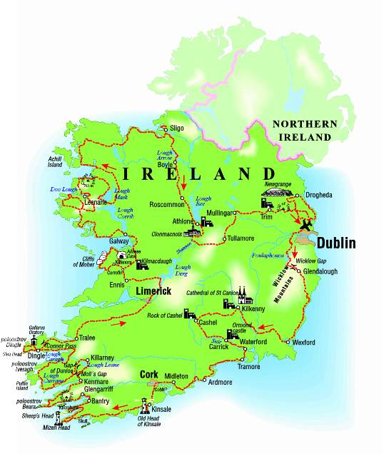 Putovani Smaragdovym Ostrovem Aneb Jeden Mesic V Irsku